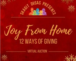 Joy From Home: 12 Ways of Giving Virtual Auction